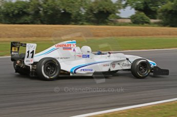 © Octane Photographic Ltd. 2011. Formula Renault 2.0 UK – Snetterton 300, Oliver King - Atech Reid GP. Saturday 6th August 2011. Digital Ref : 0122LW7D0483