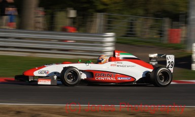 Ed Jones, Brands Hatch, Formula Renault, 01/10/2011