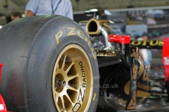 © Octane Photographic 2011. Goodwood Festival of Speed, Thursday 30th June 2011. Lotus Renault show car. Digital Ref : 0097CB1D9790