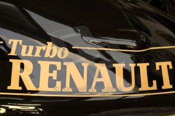 © Octane Photographic 2011. Goodwood Festival of Speed, Thursday 30th June 2011. Lotus 97T Renault V6 Turbo F1 car. Digital Ref : 0097CB1D9806