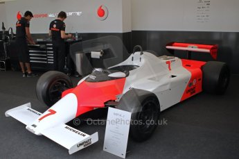 © Octane Photographic 2011. Goodwood Festival of Speed, Thursday 30th June 2011. John Watson McLaren 4/1. Digital Ref : 0097CB1D9927