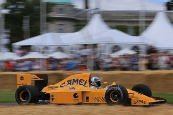 © Octane Photographic 2011. Goodwood Festival of Speed, Friday 1st July 2011. Lotus 102. Digital Ref : 0097LW7D8597