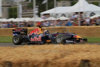 © Octane Photographic 2011. Goodwood Festival of Speed, Friday 1st July 2011. Red Bull Racing RB6 - Mark Webber. Digital Ref : 0097LW7D8633