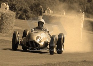 © Octane Photographic 2011. Goodwood Festival of Speed, Historic F1 Mercedes, Friday 1st July 2011. Digital Ref : 0101CB1D5490sepia