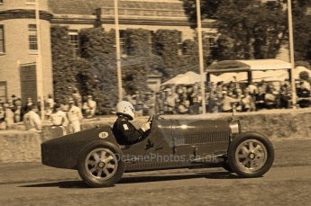© Octane Photographic 2011. Goodwood Festival of Speed, Friday 1st July 2011. Digital Ref : 0101CB17508-sepia