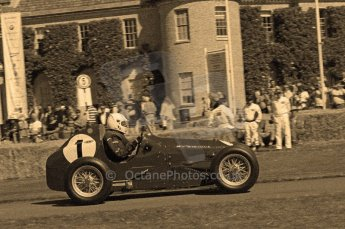 © Octane Photographic 2011. Goodwood Festival of Speed, Friday 1st July 2011. Digital Ref : 0101CB17545-sepia