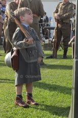 © Octane Photographic 2011 – Goodwood Revival 18th September 2011. Home guard starting early. Digital Ref : 0179lw7d7437