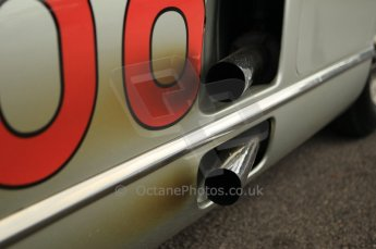 © Octane Photographic 2011 – Goodwood Revival 17th September 2011. Fangio Mercedes 300 SLR. Digital Ref : 0179CB1D4278