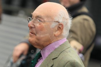 © Octane Photographic 2011 – Goodwood Revival 17th September 2011. Murray Walker. Digital Ref : 0179CB1D4460
