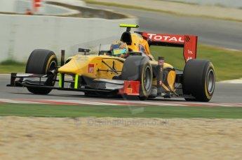 © Octane Photographic 2011. GP2 Official pre-season testing, Barcelona, Tuesday 19th April 2011. DAMS - Pal Varhaug. Digital Ref : 0052CB1D0056