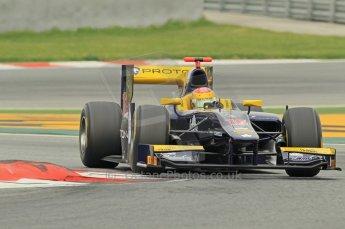 © Octane Photographic 2011. GP2 Official pre-season testing, Barcelona, Tuesday 19th April 2011. Super Nova Racing - Fairuz Fauzy. Digital Ref : 0052CB1D0192