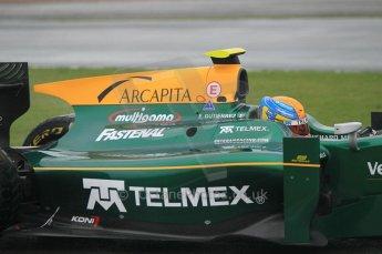 © Octane Photographic 2011. GP2 Official pre-season testing, Silverstone, Tuesday 5th April 2011. Lotus Art - Esteban - Guiterrez. Digital Ref : 0039CB1D6294