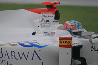 © Octane Photographic 2011. GP2 Official pre-season testing, Silverstone, Tuesday 5th April 2011. Addax - Charles Pic. Digital Ref : 0039CB1D6331
