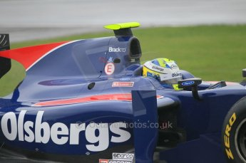 © Octane Photographic 2011. GP2 Official pre-season testing, Silverstone, Tuesday 5th April 2011. iSport - Marcus Ericsson. Digital Ref : 0039CB1D6357