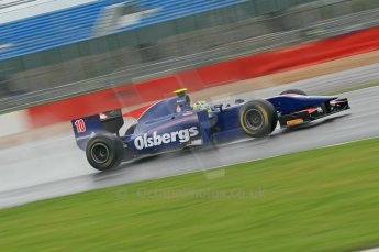 © Octane Photographic 2011. GP2 Official pre-season testing, Silverstone, Tuesday 5th April 2011. iSport - Marcus Ericsson. Digital Ref : 0039CB1D6545