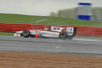 © Octane Photographic 2011. GP2 Official pre-season testing, Silverstone, Tuesday 5th April 2011. Rapax - Julian Leal. Digital Ref : 0039CB1D6601