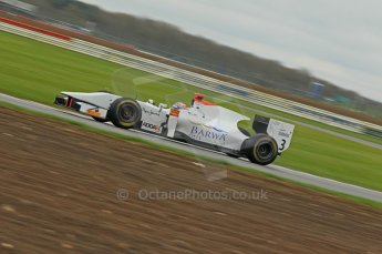 © Octane Photographic 2011. GP2 Official pre-season testing, Silverstone, Tuesday 5th April 2011. Digital Ref : 0039CB1D6754
