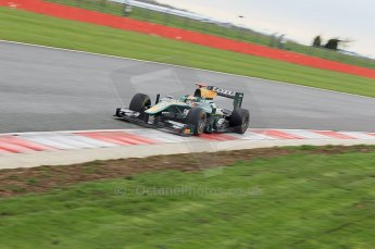 © Octane Photographic 2011. GP2 Official pre-season testing, Silverstone, Tuesday 5th April 2011. Lotus Art - Jules Bianchi. Digital Ref : 0039CB1D7419