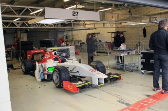 © Octane Photographic 2011. GP2 Official pre-season testing, Silverstone, Tuesday 5th April 2011. Team Air Asia - Davide Valsecchi. Digital Ref : 0039CB1D7609