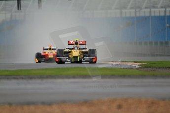 © Octane Photographic 2011. GP2 Official pre-season testing, Silverstone, Tuesday 5th April 2011. DAMS - Pal Varhaug. Digital Ref : 0039CB7D0080