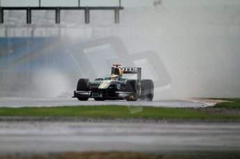 © Octane Photographic 2011. GP2 Official pre-season testing, Silverstone, Tuesday 5th April 2011. Lotus Art - Jules Bianchi. Digital Ref : 0039CB7D0113