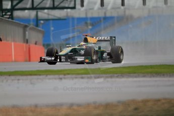 © Octane Photographic 2011. GP2 Official pre-season testing, Silverstone, Tuesday 5th April 2011. Lotus Art - Jules Bianchi. Digital Ref : 0039CB7D0231