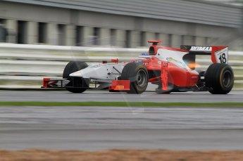 © Octane Photographic 2011. GP2 Official pre-season testing, Silverstone, Tuesday 5th April 2011. Scuderia Colini - Michael Herck. Digital Ref : 0039CB7D0341