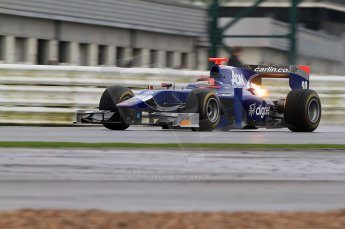 © Octane Photographic 2011. GP2 Official pre-season testing, Silverstone, Tuesday 5th April 2011. Carlin - Max Chilton. Digital Ref : 0039CB7D0357