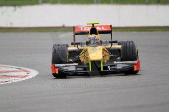 © Octane Photographic 2011. GP2 Official pre-season testing, Silverstone, Tuesday 5th April 2011. DAMS - Pal Varhaug. Digital Ref : 0039CB7D0481