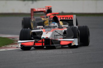 © Octane Photographic 2011. GP2 Official pre-season testing, Silverstone, Tuesday 5th April 2011. Rapax - Fabio Leimer. Digital Ref : 0039CB7D0485
