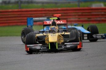© Octane Photographic 2011. GP2 Official pre-season testing, Silverstone, Tuesday 5th April 2011.  DAMS - Pal Varhaug. Digital Ref : 0039CB7D0578