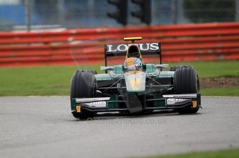 © Octane Photographic 2011. GP2 Official pre-season testing, Silverstone, Tuesday 5th April 2011. Lotus Art - Esteban Gutierez. Digital Ref : 0039CB7D0594