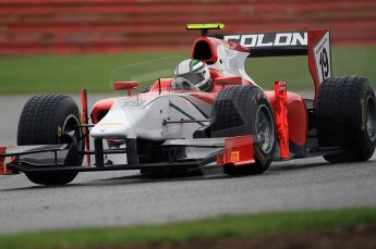 © Octane Photographic 2011. GP2 Official pre-season testing, Silverstone, Tuesday 5th April 2011. Coloni - Davide Rigon. Digital Ref : 0039CB7D0603