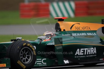 © Octane Photographic 2011. GP2 Official pre-season testing, Silverstone, Tuesday 5th April 2011. Lotus Art - Jules Bianchi. Digital Ref : 0039CB7D0664