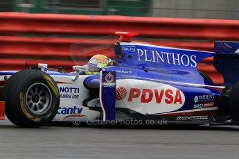 © Octane Photographic 2011. GP2 Official pre-season testing, Silverstone, Tuesday 5th April 2011. Trident - Rodolfo Gonzalez. Digital Ref : 0039CB7D0833
