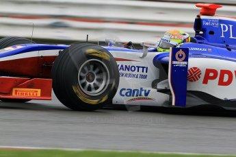 © Octane Photographic 2011. GP2 Official pre-season testing, Silverstone, Tuesday 5th April 2011. Trident - Rodolfo Gonzalez. Digital Ref : 0039CB7D0837