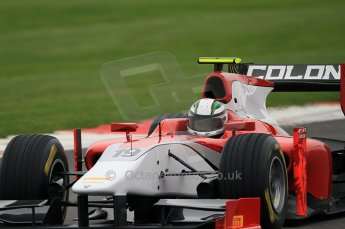 © Octane Photographic 2011. GP2 Official pre-season testing, Silverstone, Tuesday 5th April 2011. Scuderia Coloni - Davide Rigon. Digital Ref : 0039CB7D1220