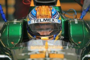 © Octane Photographic 2011. GP2 Official pre-season testing, Silverstone, Wednesday 6th April 2011. Lotus Art - Esteban Gutierrez. Digital Ref : 0040CB1D7825