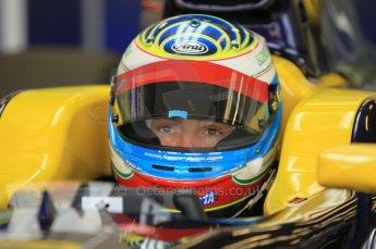 © Octane Photographic 2011. GP2 Official pre-season testing, Silverstone, Wednesday 6th April 2011. Super Nova - Luca Filippi. Digital Ref : 0040CB1D7875