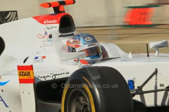 © Octane Photographic 2011. GP2 Official pre-season testing, Silverstone, Wednesday 6th April 2011. Addax - Charles Pic. Digital Ref : 0040CB1D8050