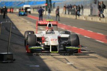 © Octane Photographic 2011. GP2 Official pre-season testing, Silverstone, Wednesday 6th April 2011. Team Air Asia - Davide Valsecchi. Digital Ref : 0040CB1D8069