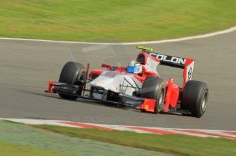 © Octane Photographic 2011. GP2 Official pre-season testing, Silverstone, Wednesday 6th April 2011. Scuderia Coloni - Davide Rigon. Digital Ref : 0040CB7D1589