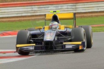 © Octane Photographic 2011. GP2 Official pre-season testing, Silverstone, Wednesday 6th April 2011. Super Nova - Luca Filippi. Digital Ref : 0040CB7D1660