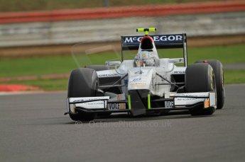 © Octane Photographic 2011. GP2 Official pre-season testing, Silverstone, Wednesday 6th April 2011. Addax - Giedo van der Garde.Digital Ref : 0040CB7D1663