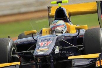 © Octane Photographic 2011. GP2 Official pre-season testing, Silverstone, Wednesday 6th April 2011. Super Nova - Luca Filippi. Digital Ref : 0040CB7D1717