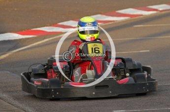 © Octane Photographic Ltd. 2011. Milton Keynes Daytona Karting, Forget-Me-Not Hospice charity racing. Sunday October 30th 2011. Digital Ref : 0194lw7d0053