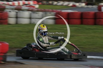 © Octane Photographic Ltd. 2011. Milton Keynes Daytona Karting, Forget-Me-Not Hospice charity racing. Sunday October 30th 2011. Digital Ref : 0194lw7d0112