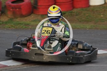© Octane Photographic Ltd. 2011. Milton Keynes Daytona Karting, Forget-Me-Not Hospice charity racing. Sunday October 30th 2011. Digital Ref : 0194lw7d0129