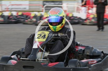 © Octane Photographic Ltd. 2011. Milton Keynes Daytona Karting, Forget-Me-Not Hospice charity racing. Sunday October 30th 2011. Digital Ref : 0194lw7d0210