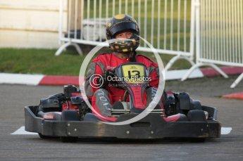 © Octane Photographic Ltd. 2011. Milton Keynes Daytona Karting, Forget-Me-Not Hospice charity racing. Sunday October 30th 2011. Digital Ref : 0194lw7d0267